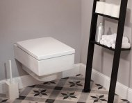 Harmonia kształtów w łazience