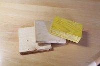 próbki drewnianych laminatów