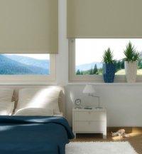 Zamszowe rolety okienne